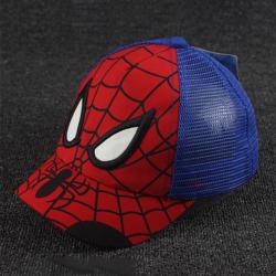 Kids Boy Spiderman Caps Casual Sports Gym Casual Mössor