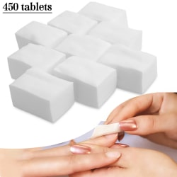 Lint Free Cotton Nail Pads Remover Cleaner White 4*6cm