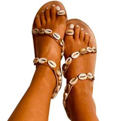 Magic Shell Print Summer Sandals Shell 42
