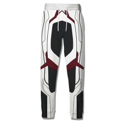 Men Anime Cosplay Avengers 4 Suit Pants Tie Loose Trousers Type B XL