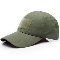 Män Camo Tactical Operator Baseball Hat Outdoor Peaked Cap Army Green - Solid