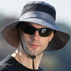 Herr Vandring Cap vattentätt solskydd Deep Grey