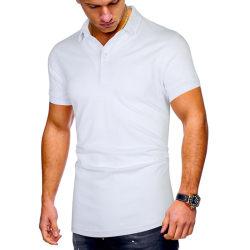 Men Pure Color Business Office Shirts White 3XL