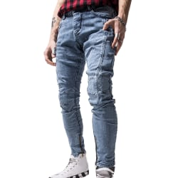Men's Hem Zip Skinny Jeans M