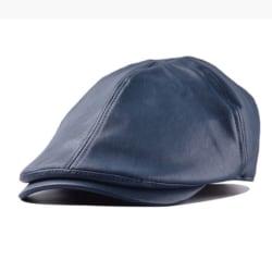 Herrläder Plain Casual Duckbill Caps Gatsby Newsboy Hat