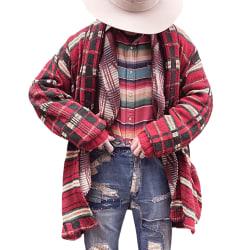 Men's shawl collar long cardigan plaid knit fashion sweater  L
