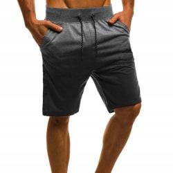 Män Tie Dye dragsko Casual Sweat Beach Shorts Byxor