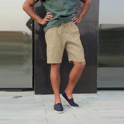Mens elastiska midja shorts Casual shorts Combat arbetsbyxor