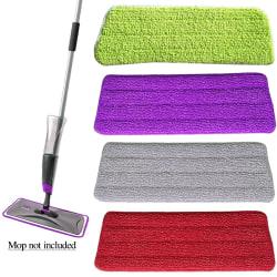 Microfiber Mop Head Premium Mop Pads Grey 14x42cm