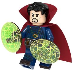 Minifigures Super Heroes Hawkeye Black Widow Building Blocks Doctor Strange