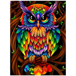 Owl DIY 5D Full Diamond Painting Wall Art Decor Kit Arts Full Diamond 20*30
