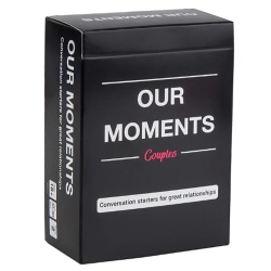 Our Moment Card Couples Conversation Starters Board Game Game