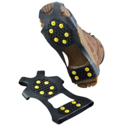Outdoor Hiking Snow Anti Slip Ice Grippers for Boots Shoes M