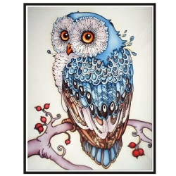Owl DIY 5D Full Diamond Paintings Wall Art Decor Kits Arts Full Diamond 30*40