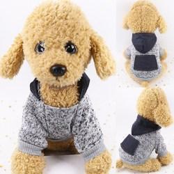 Sällskapsdjur Hundkatt Vinterfickor Huvkläder