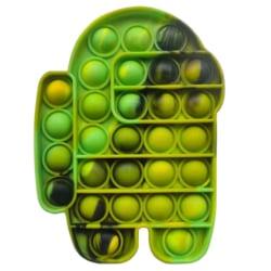 Pop It Among Us Bubble Stressboll Fidget Kids Decompression Toy