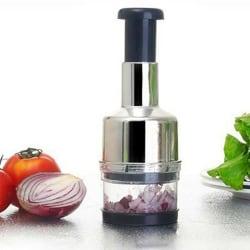 Pressing Cutter Vegetable Food Onion Garlic Slicer
