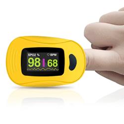 Finger Pulse Clip SpO2 PR Sensor Monitor A3 Yellow