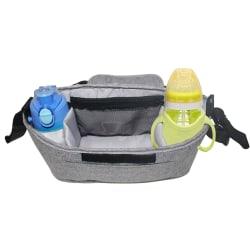 Pushchair Baby Stroller Storage Buggy Pram Bottle Cup Holder Grey