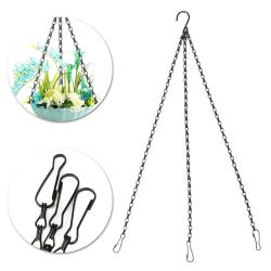 Ersättningskedja med klämmor för 3-punkts hängande växtkorg