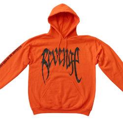 Unisex män dam basic hip-hop hoodie tröjor tröja Orange XL