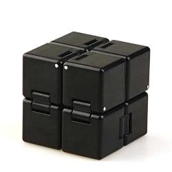 Sensory Infinity Cube Stress Fidget Toy Kids Unisex Black