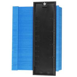 Shaper Contour Duplicator Profile Gauge Tiles Edge Allmänt Light Blue 3 PCS