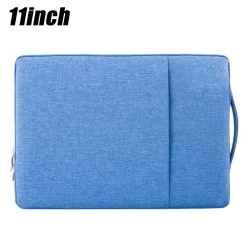 Sleeve Case Pouch Carrying Hand Bag Tablet Laptop Denim Blue 11 inch