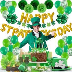 St. Patricks Day Hanging Swirl Folie Irish Leprechauns Party
