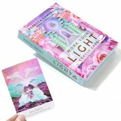 Tarot Card Deck Work Light Oracle Cards 44 Sheet Mind Body