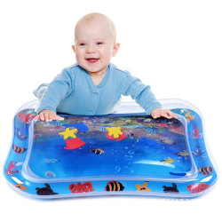 Tummy Time Baby Inflatable Water Play Mat ocean