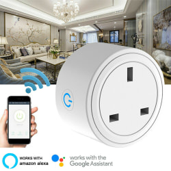 UK Mini Smart Outlet Wifi Socket 3pcs 3pcs