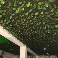 Wall Hanging Plants Fake Leaf Vine Greenery Artificial Decor 24 PCS