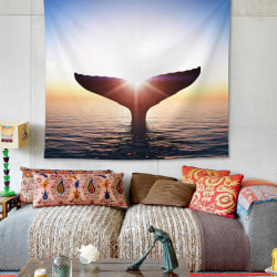 Whale Tail Wall Decoration Tapestry