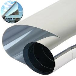 Window Film Glass heat insulation film 2m-10m Silver 50*1000