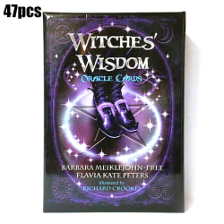 Witches Wisdom Oracle Cards A 47 Cards Tarot Card Deck Book Set