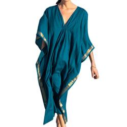 Kvinnor Beachwear lång baddräkt Caftan Beach Dress