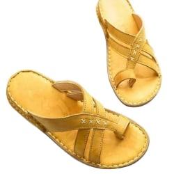 Dam Sandaler Tofflor med rund tå