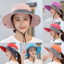 Women's Summer Sun UV Protection Hat pink