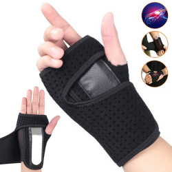 Wrist Hand Brace Support Arthritis Skydd Black Right hand