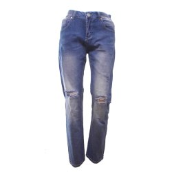 Jeans Sliten look DenimBlue XS