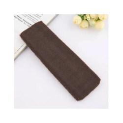 Hårband i Frotté (chokladbrun) Brun