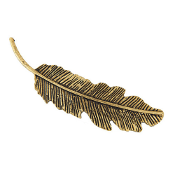 Hårspänne Feather (brons)