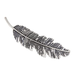 Hårspänne Feather (silver)