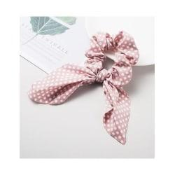 Prickig Scrunchie med Band (rosa) Rosa