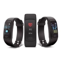 Forever ForeFit SB‑130 Smart Bluetooth Fitnessmätare - Svart