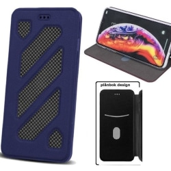 Huawei Honor 8 Lite - P8/P9 Lite (2017) Plånboksfodral - Mörkblå Mörkblå