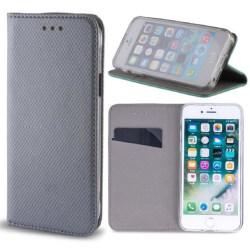 Huawei Honor 8 Lite - P8/P9 Lite (2017) Plånboksfodral - Steel SilverGrey