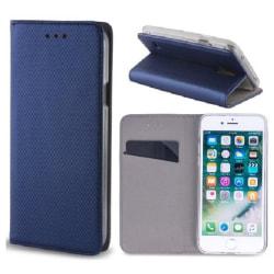 Huawei Mate 10 Lite - Smart Magnet Mobilplånbok - Marinblå MarineBlue