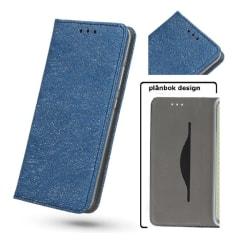 Huawei P10 Lite - Toppkvalitet Plånboksfodral - Blå Blue